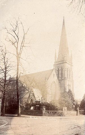 Henry Hill Vale (architect) - St Paul's Methodist Church in Didsbury, Manchester