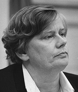 Staatssecretaris Dales (PvdA) tijdens het overleg - NL-HaNA Anefo 931-6885 WM422.jpg