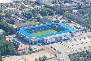 Aerial view of the stadium 2018