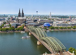 City center of Cologne, Germany.