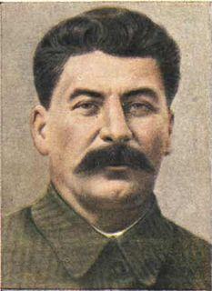 Joseph Stalin Soviet leader