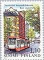 Stamp of Finland - 1979 - Colnect 46875 - Tram in - Helsinki.jpeg