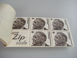 ZIP Code - Image: Stamps USA, Markenheft IMG 1699