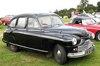 Standard Vanguard Motor vehicle