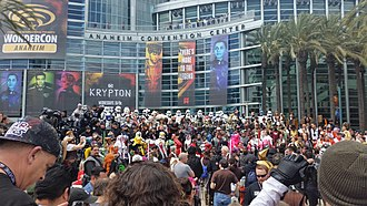 WonderCon - The exterior of WonderCon at the Anaheim Convention Center