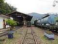 Stasiun di Museum Kereta Api Sawahlunto 2018.jpg