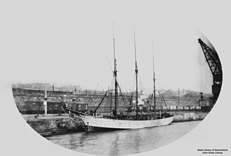 Cymric (schooner) - Image: State Lib Qld 1 150259 Cymric (ship)