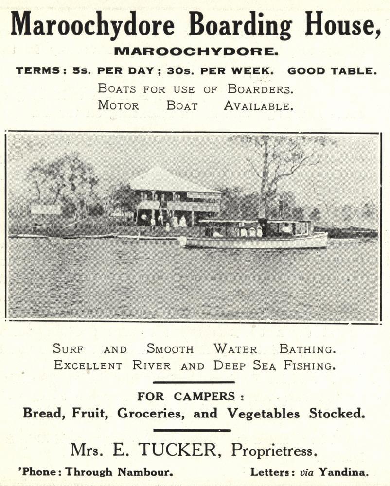 StateLibQld 1 258605 Maroochydore Boarding House, ca. 1917