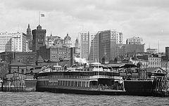the ferryboat Erastus Wiman