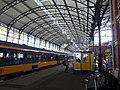 Station Den Haag HS - Informatiebalie op het perron.jpg