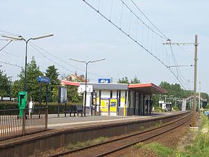 Zoetermeer Oost railway station - Image: Station Zoetermeer Oost 2