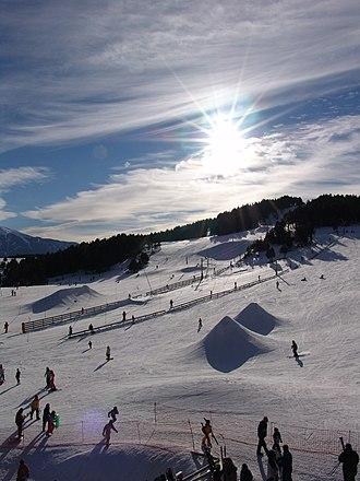 Col de la Quillane - The Col de la Quillane in winter