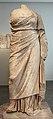Statua della sacerdotessa nikeso su base originale, da santuario di demetra a priene, 300-250 ac ca. 02.JPG