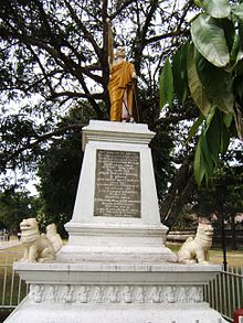 Statue Of Most Venerable Wariyapola Sri Sumangala Maha Thera.jpg