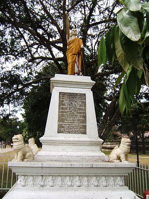 Wariyapola Sri Sumangala - Statue of Sri Sumangala