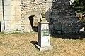Statue de Nicolas Appert au pied du Vieux clocher à Massy en Essonne le 3 août 2015 - 1.jpg