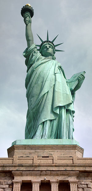 English: Statue of Liberty from Liberty Island