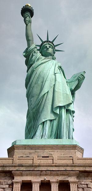 English: Statue of Liberty from Liberty Island