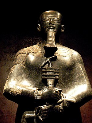 Ptah - Statue of Ptah - Egyptian Museum of Turin