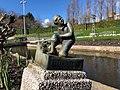 Statue of the hero of Haarlem (Spaarndam) in Madurodam 06.jpg