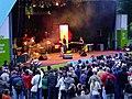 Stefanie Heinzmann LIVE mit Band 2009 auf der BUGA in Schwerin 02.jpg