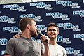 Stephen Amell and Robbie Amell HVFFLondon2017Amell-ALS-27 (35313383785).jpg