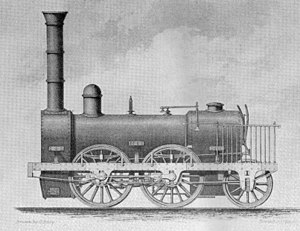 0-4-2 - The Stephenson 0-4-2, 1834