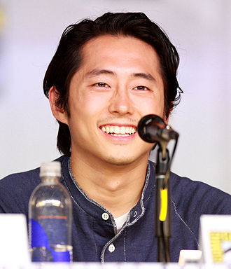 The Walking Dead (season 4) - Image: Steven Yeun by Gage Skidmore