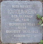 Stolperstein Böchingen Kern Karola geb Ullmann.jpeg