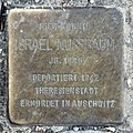 Stolperstein Bartningallee 7 (Hansa) Israel Nussbaum.jpg