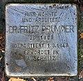 Stolperstein Goßlerstr 25 (Fried) Fritz Brummer.jpg