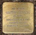 Stolperstein Hohenzollerndamm 35a (Wilmd) Martin Gerson.jpg