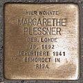 Stolperstein Margarethe Plessner by 2eight 3SC1391.jpg