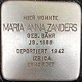 Stolperstein Maria Anna Zanders1.jpg