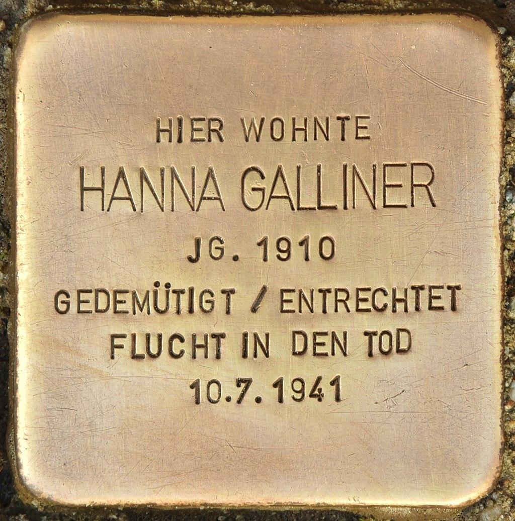 Stolperstein für Hanna Galliner (Finsterwalde).jpg
