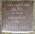 Stolpersteine Köln, Romm, Stein-Nr. 114 (Holzmarkt 1).jpg