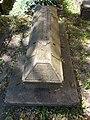 Stone coffin in Hatvani Cemetery, Eger, 2016 Hungary.jpg
