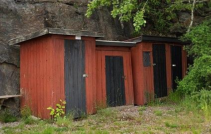 Storage huts at Holma Marina 2.jpg