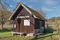 Straßburg Pöckstein-Zwischenwässern Gurktalbahn Stationshäuschen 28102016 5191.jpg