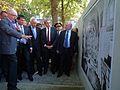 Strasbourg 22 juillet 2012 inauguration Allée des Justes 10.JPG