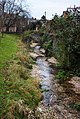 Stream at Hyde, Winchester, Hampshire - geograph.org.uk - 2181377.jpg