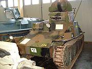 Stridsvagn m1937 Armémuseum