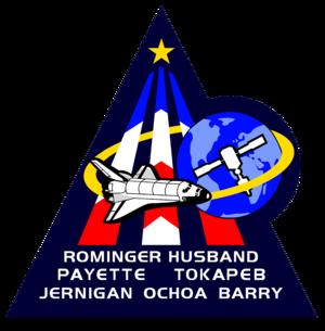 Rick Husband - Image: Sts 96 patch