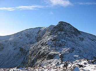 Stùc a' Chroin - Northern ridge of Stùc a' Chroin, November 2004