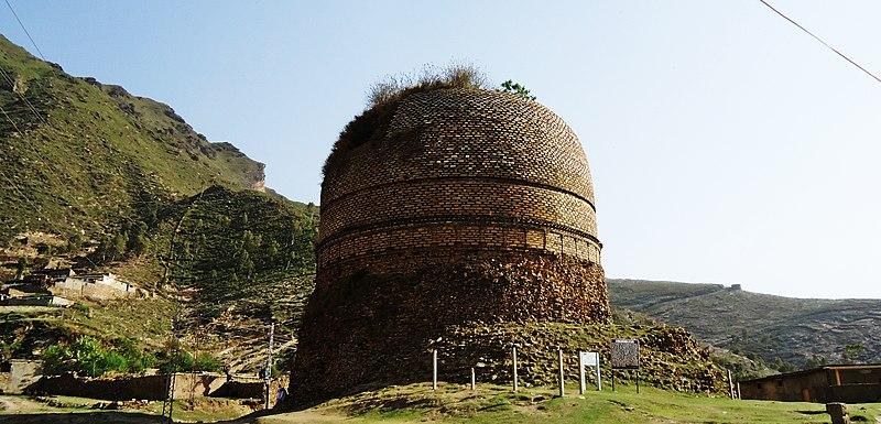 Stupa at Shingardar , SWAT,Khyber Pukhtunkhwa, Pakistan.JPG