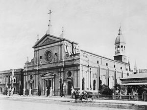 Cathedral of Saint Vibiana - Cathedral of Saint Vibiana, 1885