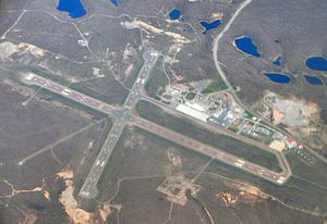 Sudbury Airport - Image: Sudbury Airport