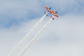 Sukhoi Su-26 de la patrulla acrobática española Bravo 3 Repsol (14748743083).jpg
