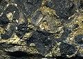 Sulfidic serpentintite 3 (platinum-palladium ore) Stillwater Mine MT.jpg