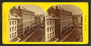 Summer Street (Boston) - Image: Summer Street, from Robert N. Dennis collection of stereoscopic views 4